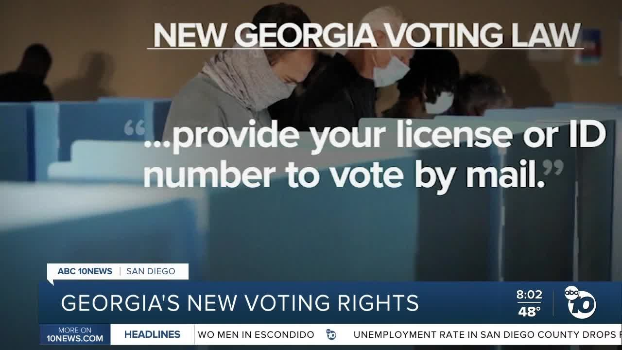 Expand access? A historic restriction? What the Georgia voting law ...