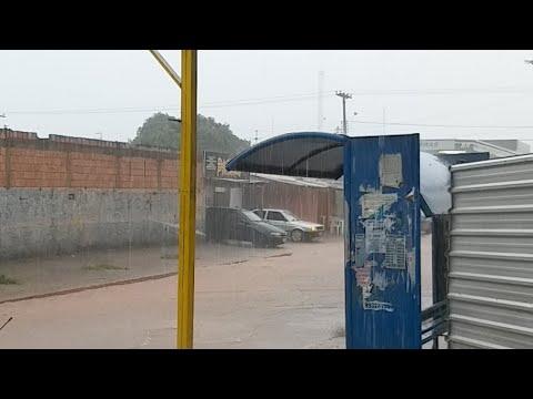 Chuva No Valparaíso de Goiás