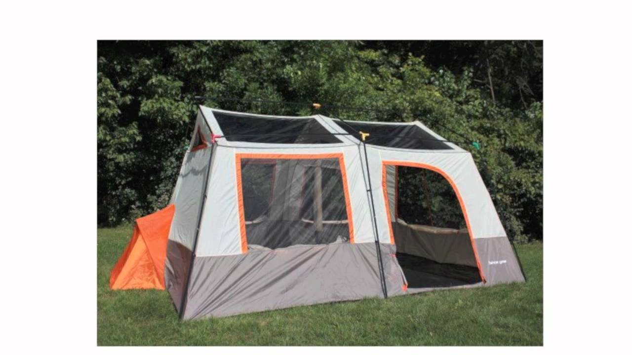 sc 1 st  YouTube & Tahoe Gear Ottawa 12-Person Tent   OTTAWA-12 - YouTube