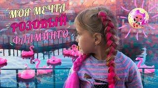 Vlog Моя мечта Розовый фламинго Красивая Новая Голландия и Шоу распаковка куклы Лол