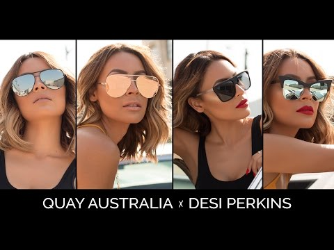 QUAY x DESI SUNGLASS COLLABORATION | AVAILABLE 6-9-16 9AM PS