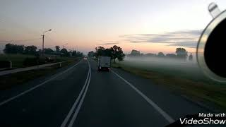 Volvo FH13 dalsze śmiganie po kraju. 10-14 września