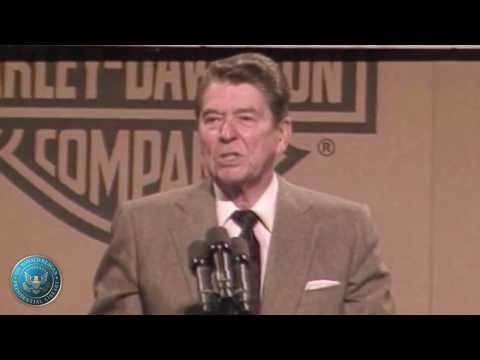 President Reagan's Remarks to Harley-Davidson Company Employees in York, Pennsylvania - 5/6/87