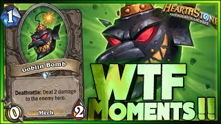 Hearthstone -WTF Moments - Daily Funny Rng Moments