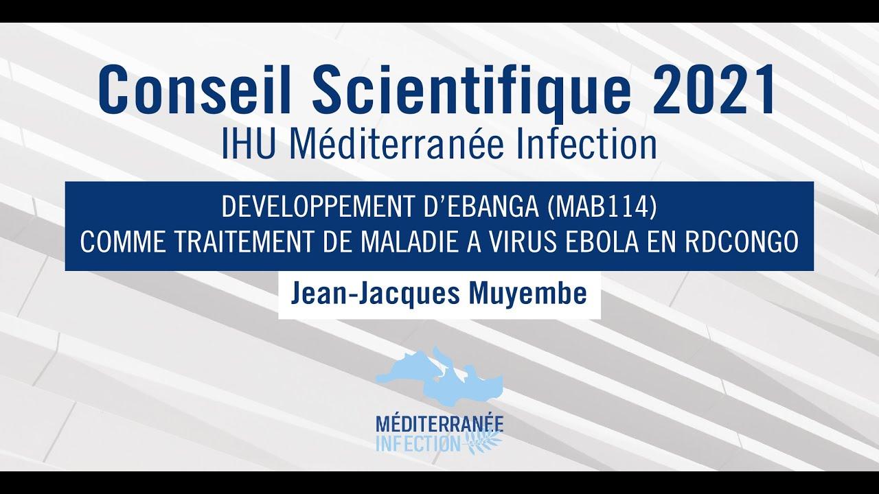 Conseil Scientifique 2021 - Pr. Jean-Jacques Muyembe