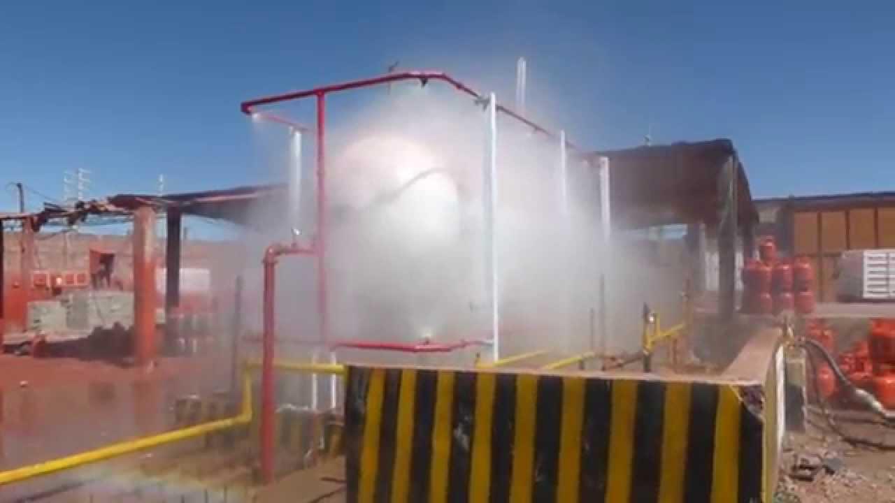 Proyecto sistema de aspersi n para tanque de g l p for Aspersor de agua para jardin