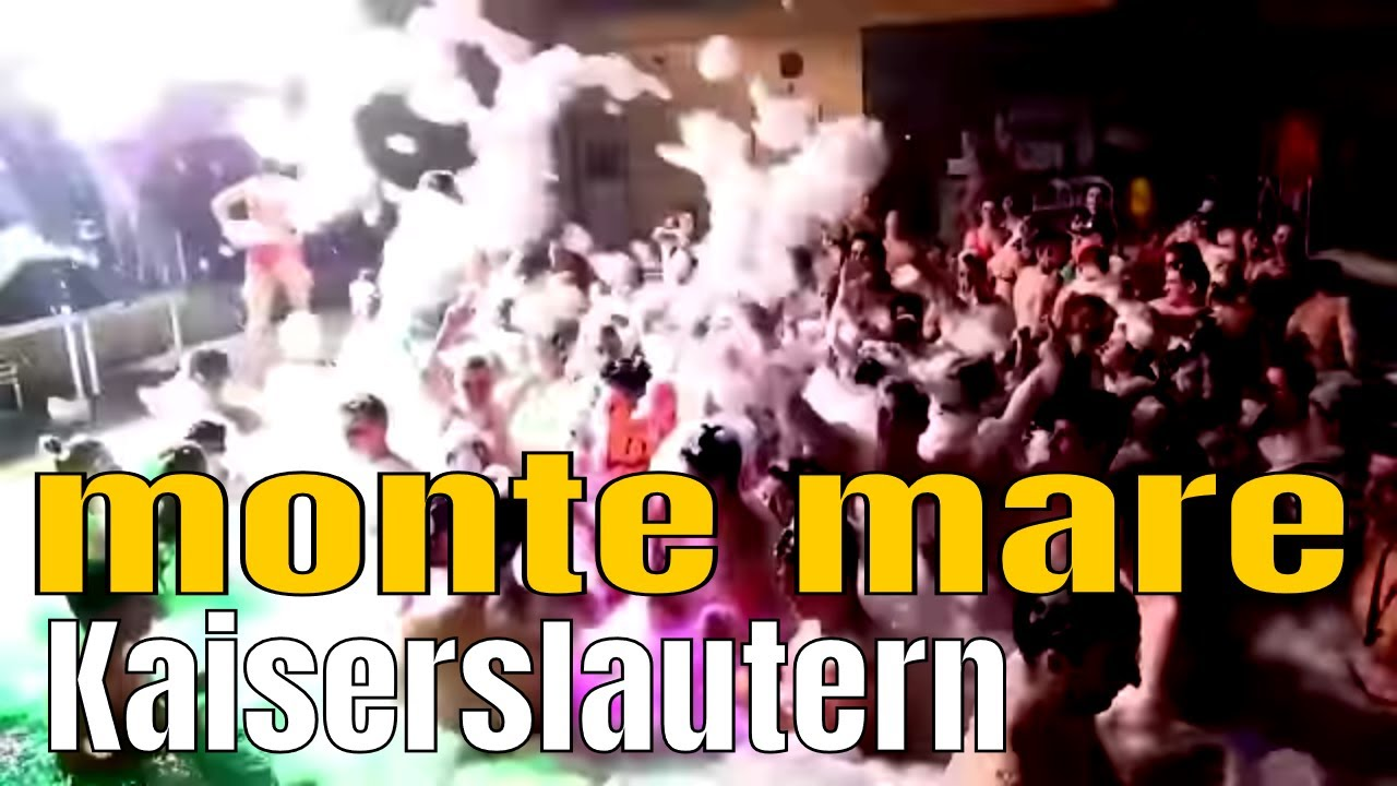 Poolnight monte mare Kaiserslautern Schwimmbad Party - YouTube