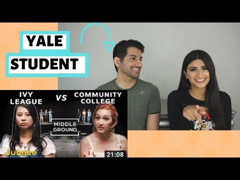 Yale Student Reacts to Ivy League Vs Community College | Medbros