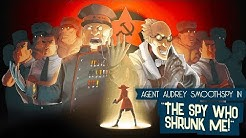 The Spy Who Shrunk Me - Gameplay ( PC ) / 80s Stealth Game