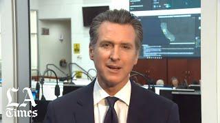 California gov. gavin newsom announces $150 million to address coronavirus risk for homeless people