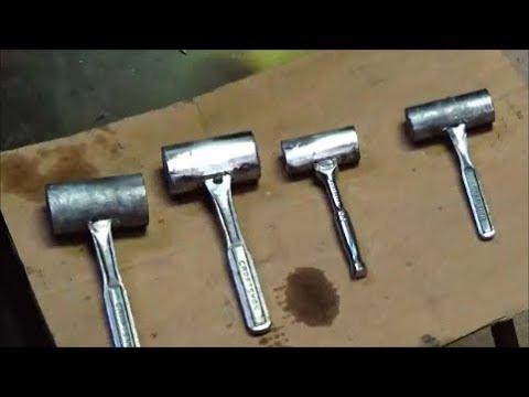 Lead Hammer Repurposing Old Tools