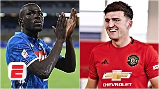 Koulibaly 'worth 250 million if Maguire is 80 million' claims Napoli owner | Premier League
