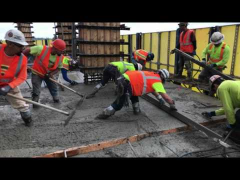 Highrise Concrete Pour In Seattle