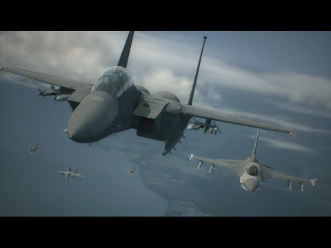 Ace Combat 6 | Mission 1 | Invasion of Gracemeria