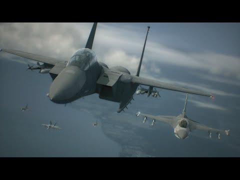 Ace Combat 6 | Mission 1 | Invasion of Gracemeria