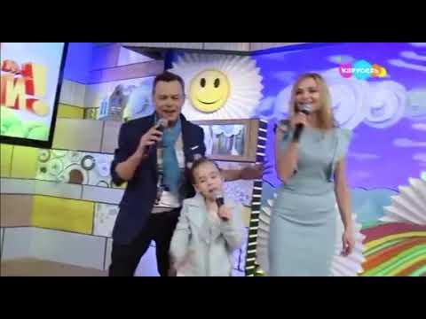 Ника , Маруся и Владимир Лёвкины.