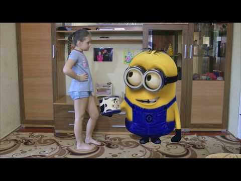 Lera Style and minions in real life dave toy