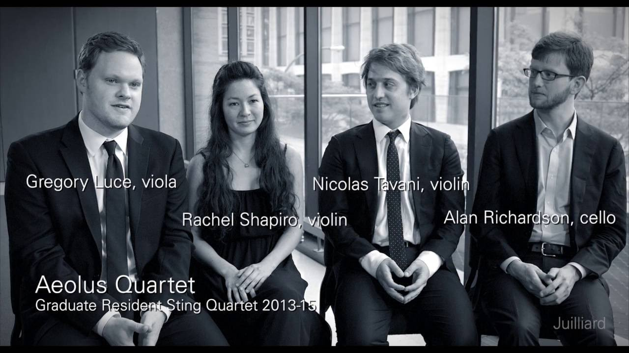 Juilliard Snapshot: Aeolus Quartet on Musical Focus