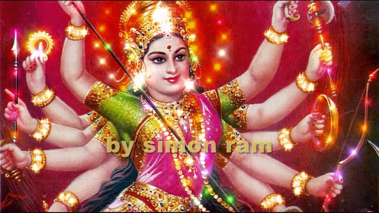 Maa Durga 3d Hd Wallpaper Shri Nav Durga Aarti Youtube