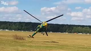 Под Минском чуть не разбился вертолёт Ми-2.