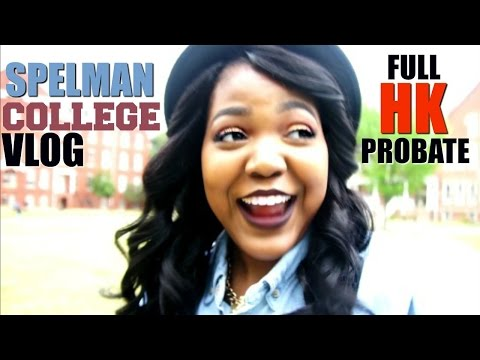 Spelman College Vlog #47 HK Delta Sigma Theta Probate| BrelynnBarbie
