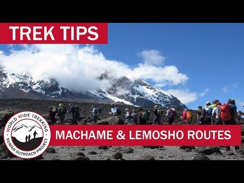Climbing Kilimanjaro: The Machame and Lemosho Routes | Trek Tips
