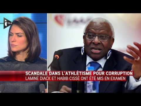 L'ancien président de la Fédération d'athlétisme Lamine Diack mis en examen