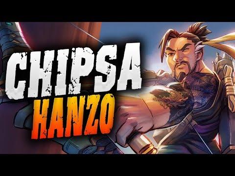 Chipsa Plays As HANZO! 4296 SR! [ OVERWATCH SEASON 14 TOP 500 ] thumbnail