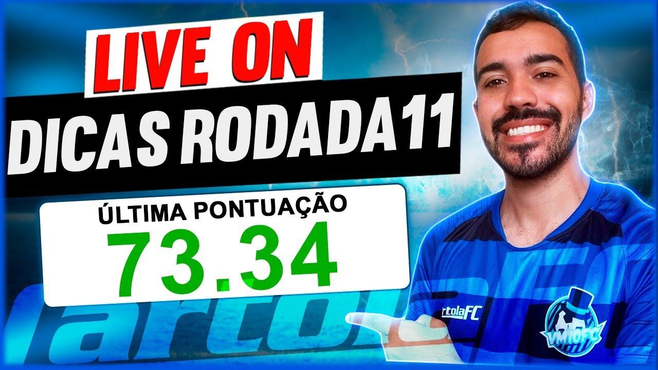 Download LIVE DICAS RODADA 11 - CARTOLA FC 2020