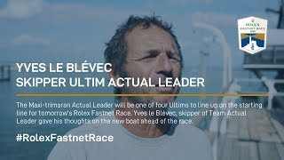 Yves le Blévec | Skipper Ultim Actual Leader