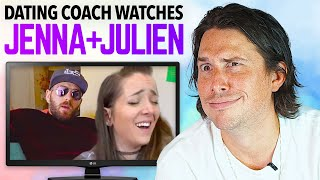 Dating Coach Reacts to JENNA MARBLES and JULIEN SOLOMITA