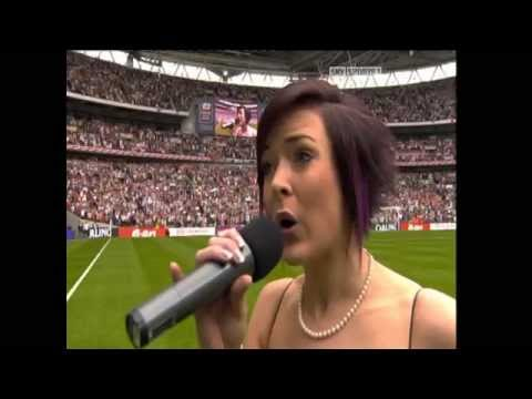 Wembley National Anthem Singer Jenny Williams