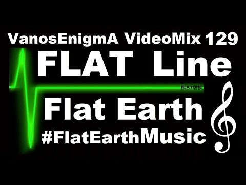 V 129 FlatLine Flat Earth Music Mix Geography Antarctica Space Moon Sun Sky Map Tierra Plana Bitcoin