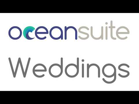 Weddings at Ocean