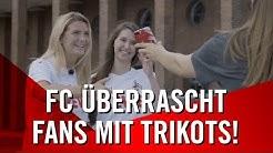 FC SCHENKT FANS das neue TRIKOT | 1. FC Köln | Bundesliga