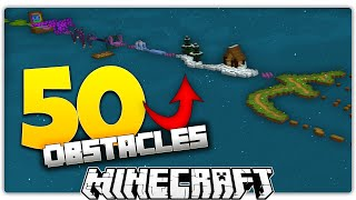 50 Minecraft Obstacle Course Levels
