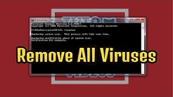How to Remove Viruses using cmd | Delete all Virus from your PC without Antivirus | Easiest Way