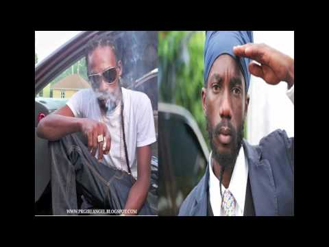 SIZZLA AND MUNGA - OUTLAW - FLY AGAIN RIDDIM - JULY 2011
