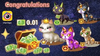 ClipClaps  Coin Cat  Selling Special Cats