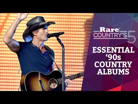 5 Essential '90s Country Albums | Rare Country's 5