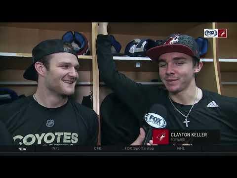 Arizona Coyotes weigh in on Kane/Matthews celebrations