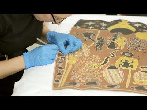 National Museum of Australia conserving Australia's art