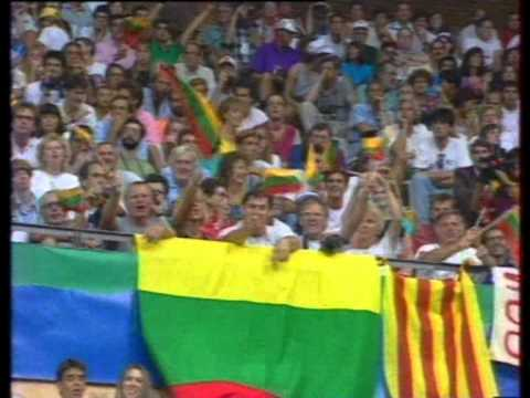 Lithuania's Dream Team at 1992 Barcelona Olympic Games