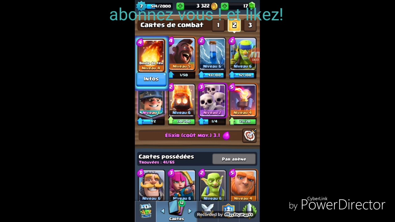 Presentation de deck mineur mont e en arene 7 youtube for Deck arc x arene 7
