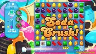 Candy Crush Soda Saga Level 962 (No boosters)