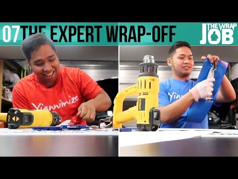 The Experts Wrap Off - The Wrap Job ep07
