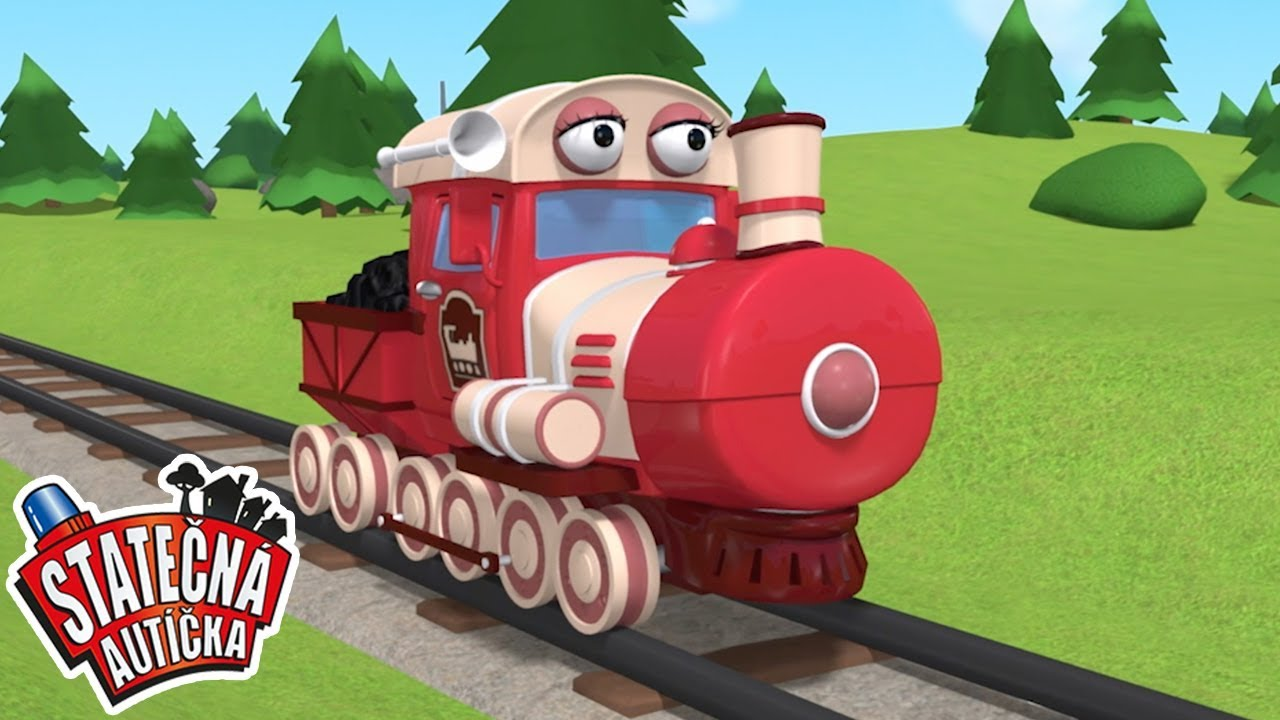 Vlakové dobrodružství | Kreslené pro Děti | Animované pro Děti