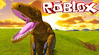 "Primal Life ""Roblox"" (Gameplay/EN)-Playing from Utahraptor! (#3)"