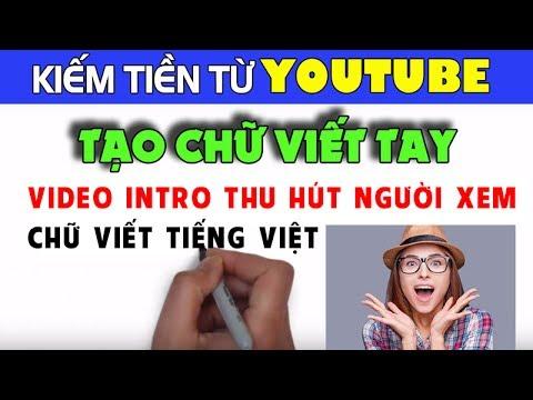 Hướng dẫn làm video hiệu ứng chữ viết tay | Cách tạo video chữ viết tay thu hút người xem
