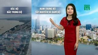 VTC14 | Thời tiết 6h 14/03/2018 | Thời tiết cả nước tiếp tục có sự phân hóa rõ rệt.